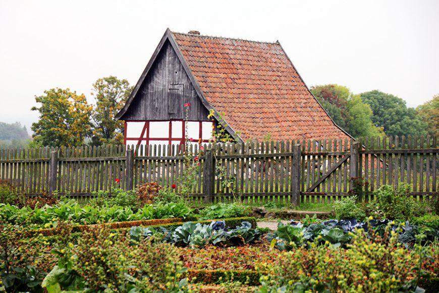 Styles de jardins - jardin nourricier avec un potager