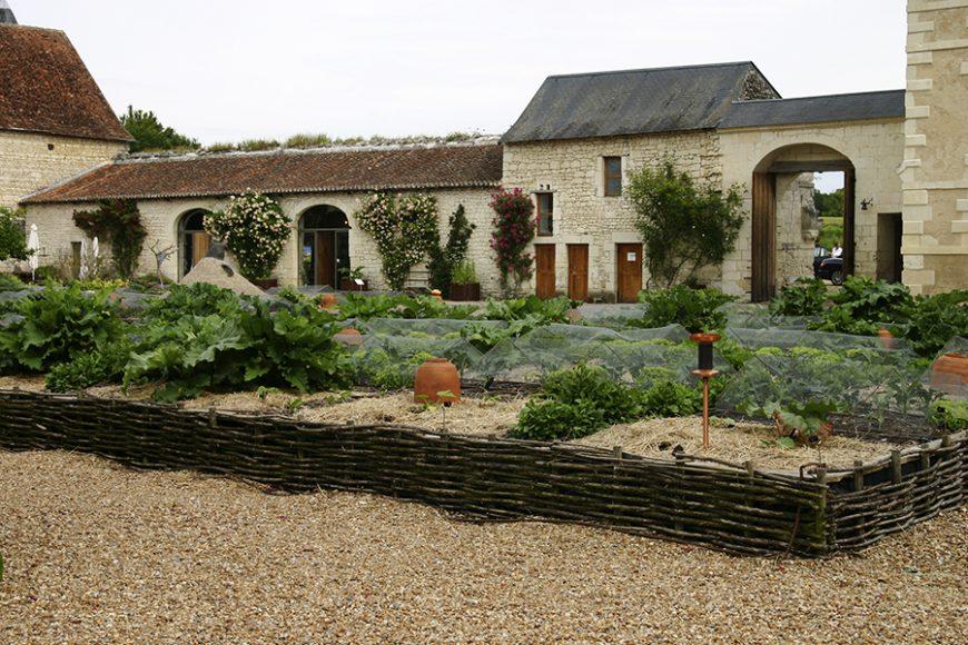 Styles de jardins - jardin médiéval avec ses carrés potagers
