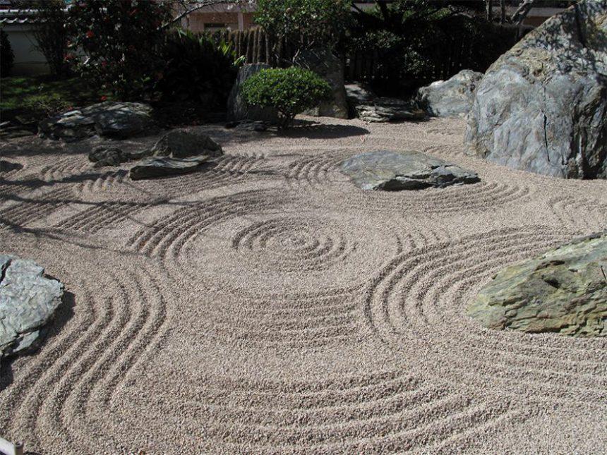 Styles de jardins - jardin minimaliste zen