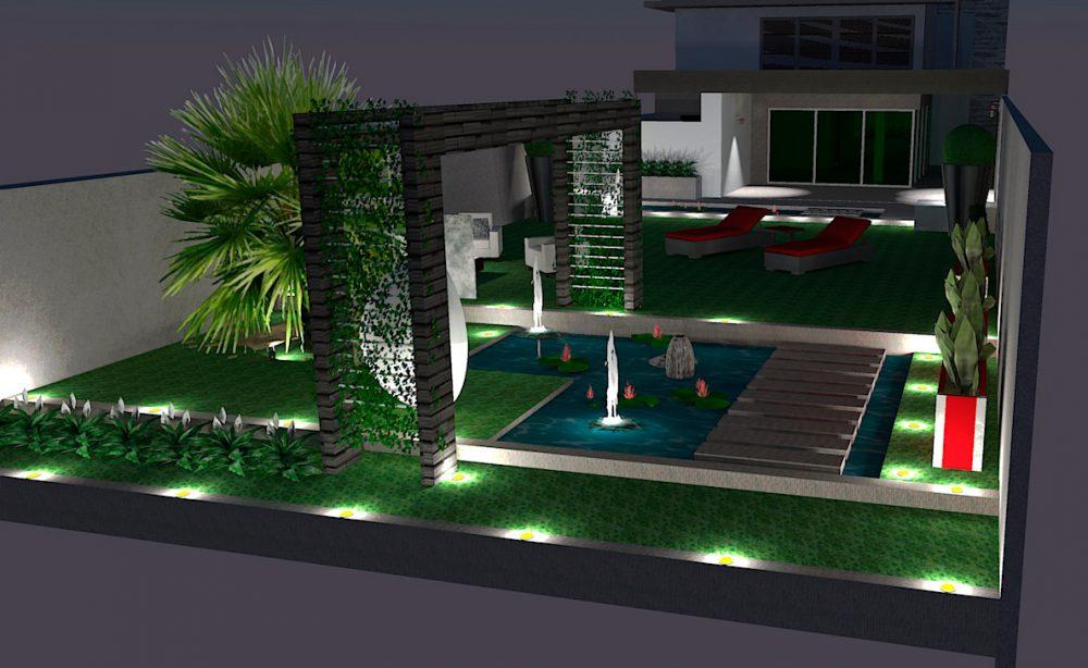 Exemple de modélisation 3D de nuit - service proposé aux professionnels