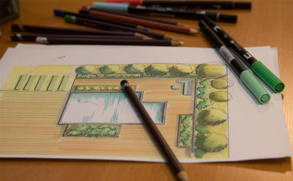 J com Jardin au service des particuliers et des professionnels pour l'aménagement des espaces extérieurs