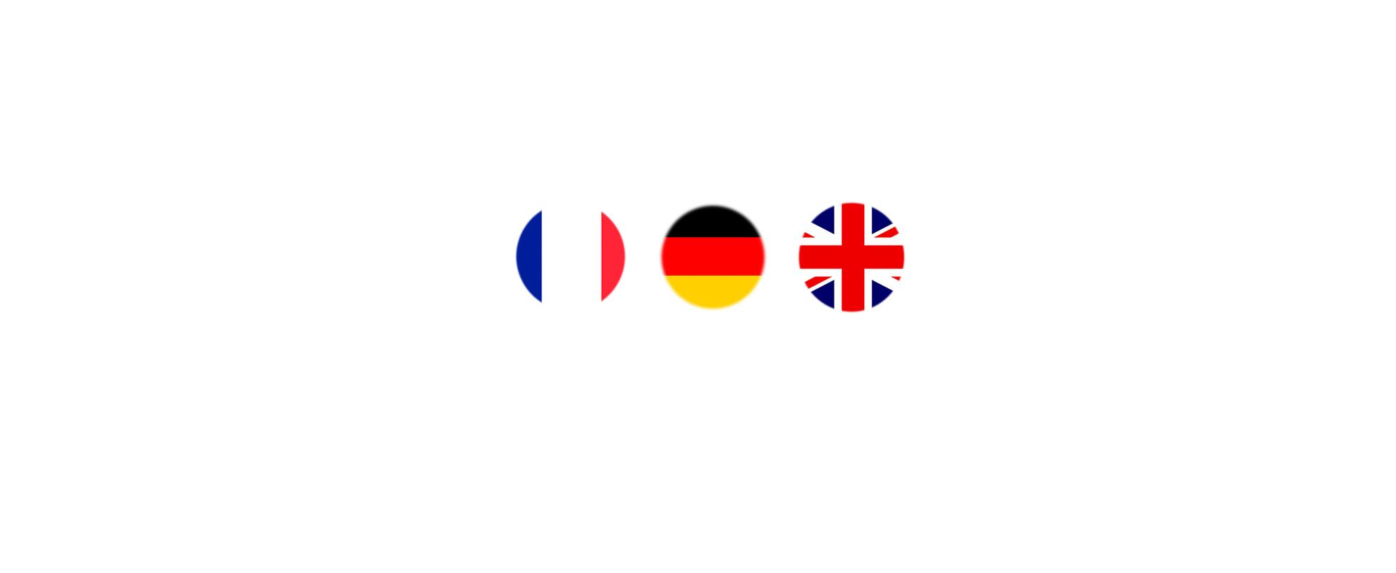 Je parle français, allemand et anglais